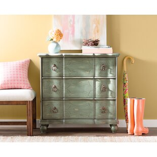 Miquelon Scroll 3 Drawer Chest