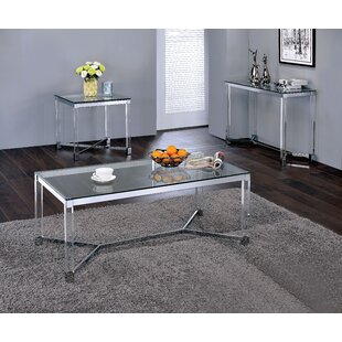 Aquila 3 Piece Coffee Table Set