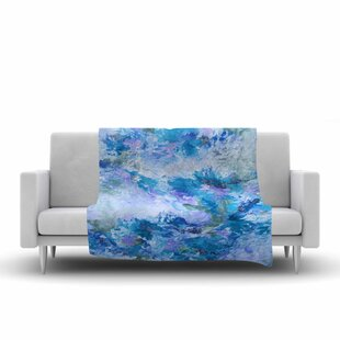 Ebi Emporium When We Were Mermaids 15 Watercolor Fleece Blanket By East Urban Home
