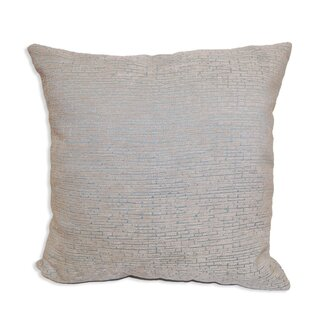 Gaillard Distressed Chenille Throw Pillow