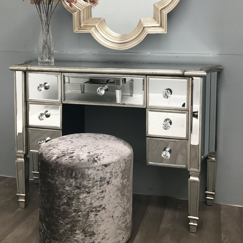 Merveilleux Morley Vintage Mirrored Dressing Table