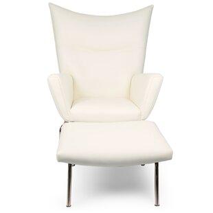 Kardiel Wingback Chair & O..