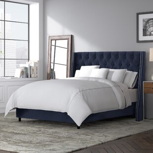 Skyline Furniture Costello Upholstered Panel Bed
