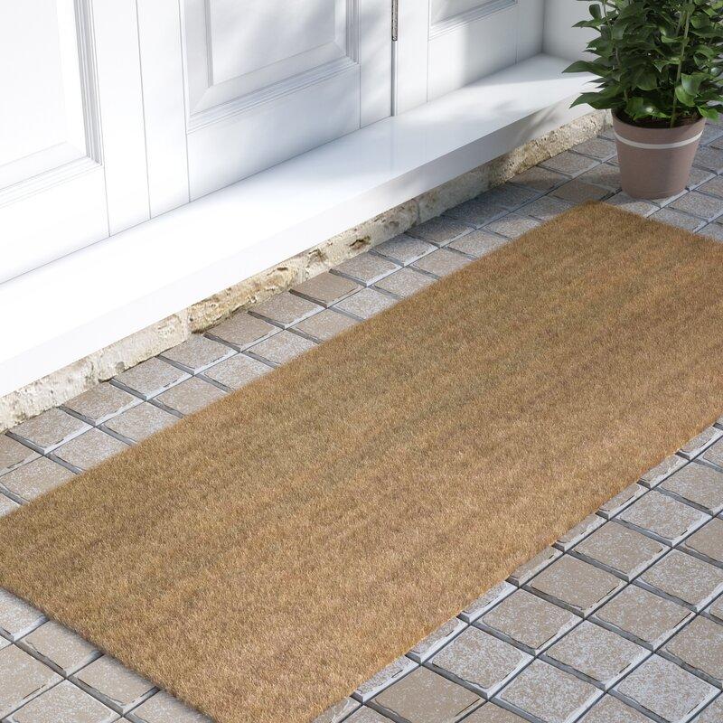 Frances Solid Double Door Doormat & Fleur De Lis Living Frances Solid Double Door Doormat \u0026 Reviews ...