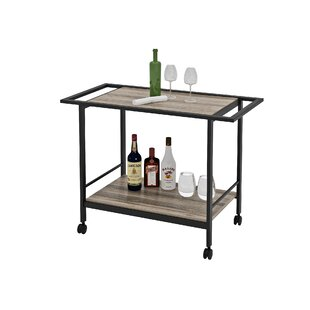 Union Rustic Stacy Bar Cart