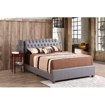 Mercury Row Peregrin Conway Queen Upholstered Platform Bed Reviews Wayfair