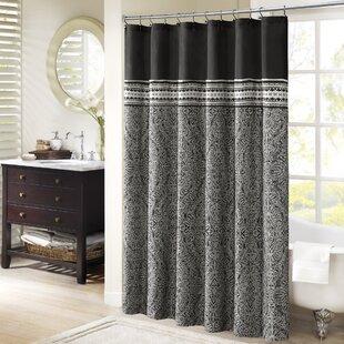 Best Reviews Lupe Shower Curtain ByLatitude Run