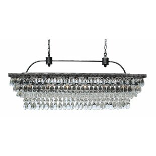 Dix 6-Light Crystal Chandelier