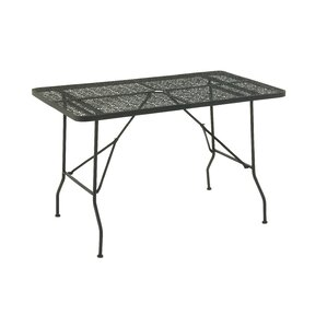 Metal Fold Outdoor Bar Table