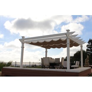 Infinity 10 Ft. W x 12 Ft. D Pergola Canopy by Infinity Canopy