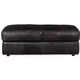 Solace Leather Storage Ottoman by Hooker Furniture