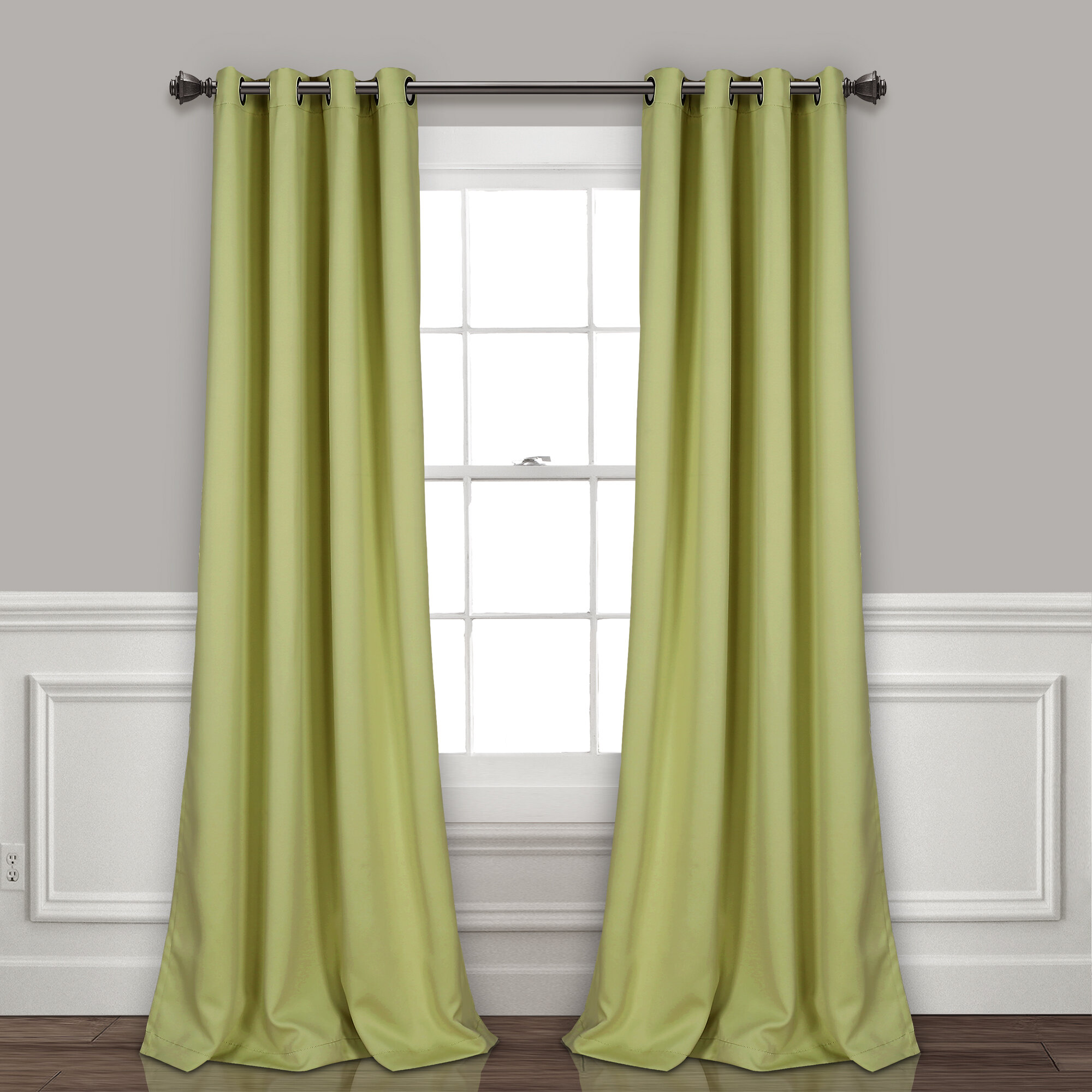 Green Curtains Drapes You Ll Love In 2021 Wayfair