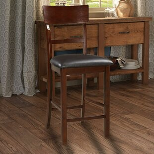 Hoelscher Wooden 24 Bar Stool (Set of 2)