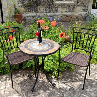 Donald 2 Seater Bistro Set By World Menagerie