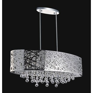 CWI Lighting 8-Light Drum Pendant
