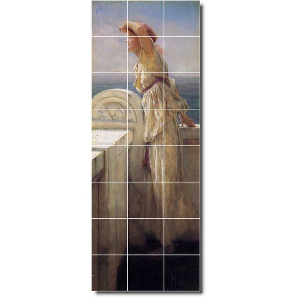 Picture Tiles Com 25 5 X 17 Ceramic Ivan Aivazovsky Waterfront Painting Decorative Mural Tile 24 4 25 X 4 25 Set Of 24 Wayfair