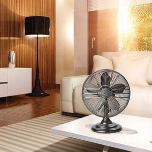 Classic Metal Oscillating Tower Fan