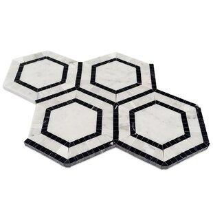 Zeta Random Sized Marble Mosaic Tile