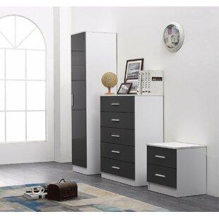 Review Tomaszewski 3 Piece Bedroom Set