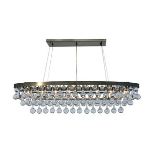 Willa Arlo Interiors Fabrice 8-Light Crystal Chandelier