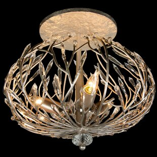 Bask 3-Light Semi Flush Mount ..