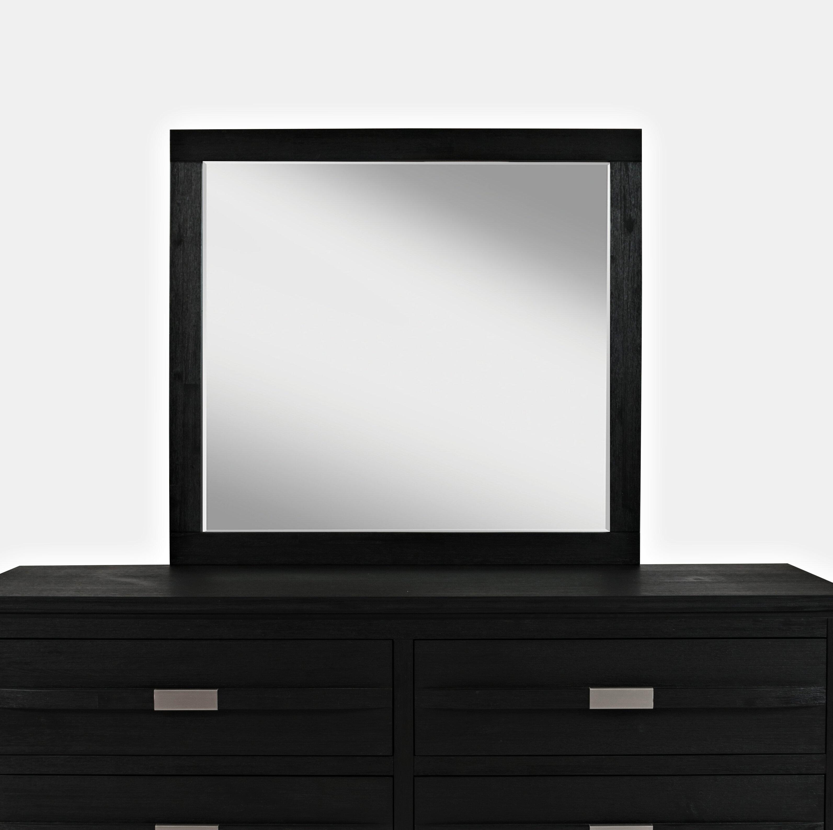 Brayden Studio Eberhardt Beveled Dresser Mirror Wayfair