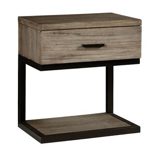 Great Price Lipsey 1 Drawer Nightstand by Gracie Oaks