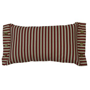 Calista Striped Cotton Lumbar Pillow