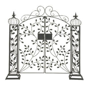 Beau Metal Garden Gate