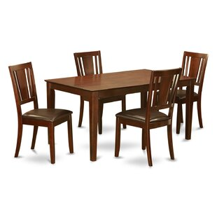 Capri 5 Piece Dining Set b..