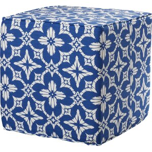 Sedgwick Square Pouf Ottoman by Breakwater Bay