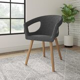 Deker Upholstered Arm Chair in Smoke by National Office Furniture
