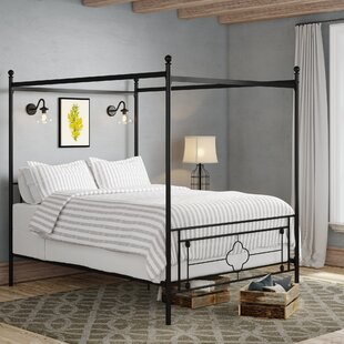Price comparison Woodson Canopy Bed by Gracie Oaks Reviews (2019) & Buyer's Guide