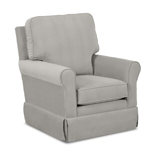 Wayfair Custom Upholstery™ Bridgeport Swivel Glider