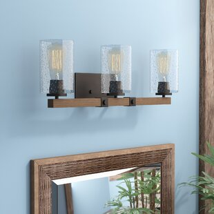 Best Reviews Richard 3-Light Vanity Light By Union Rustic