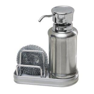 Duff Soap Dispenser And Sponge Caddy
