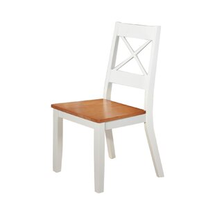 Deleo Solid Wood Dining Chair (Set Of 2) By Brambly Cottage