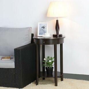 Nikolas End Table with Storage by Charlton Home