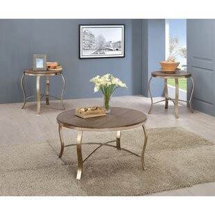 Bickel 3 Piece Coffee Table Set