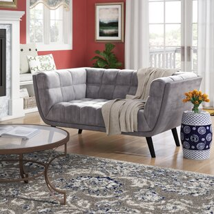 Seneca Loveseat by Brayden Studio 2019 Sale