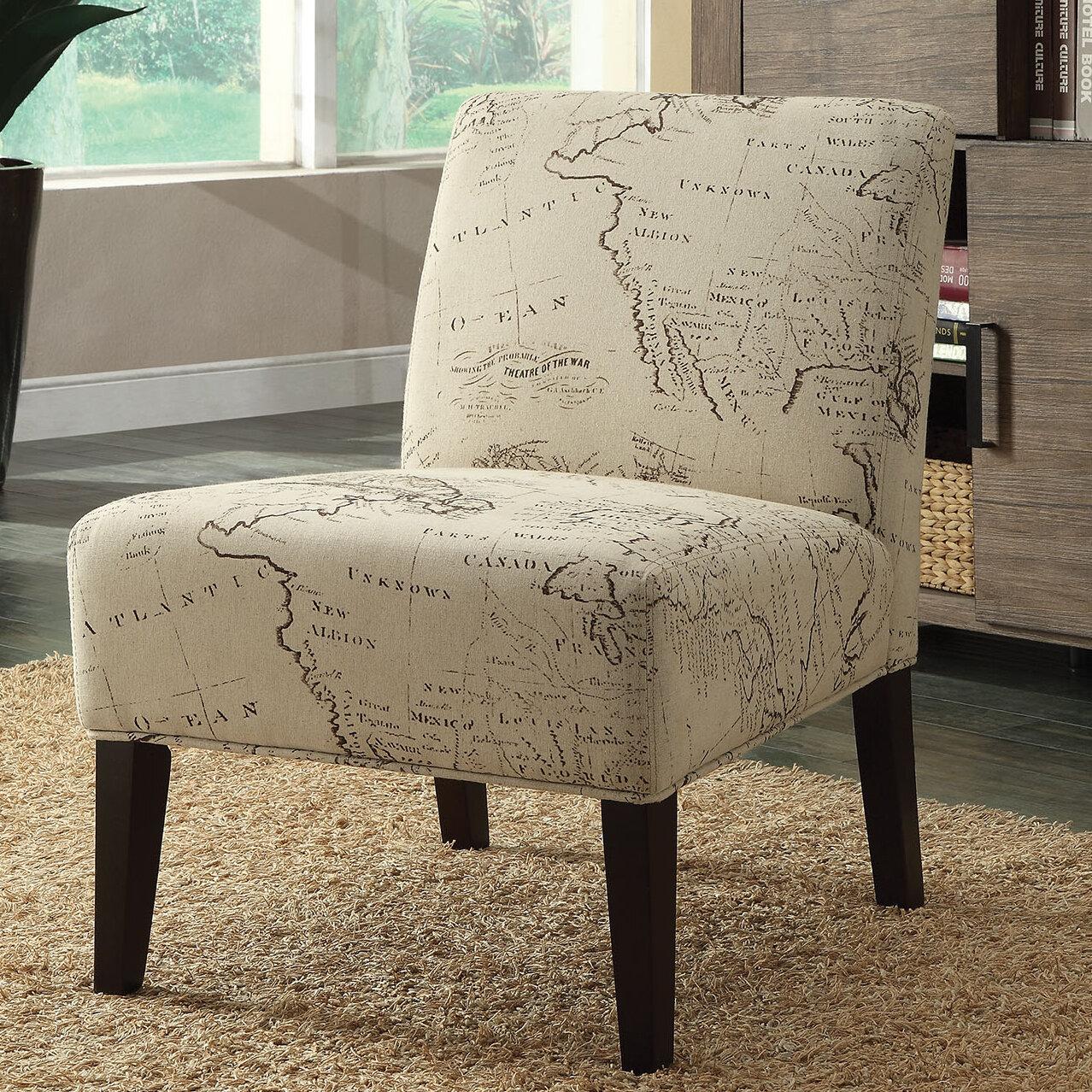 A J Homes Studio Avalon Slipper Chair Wayfair