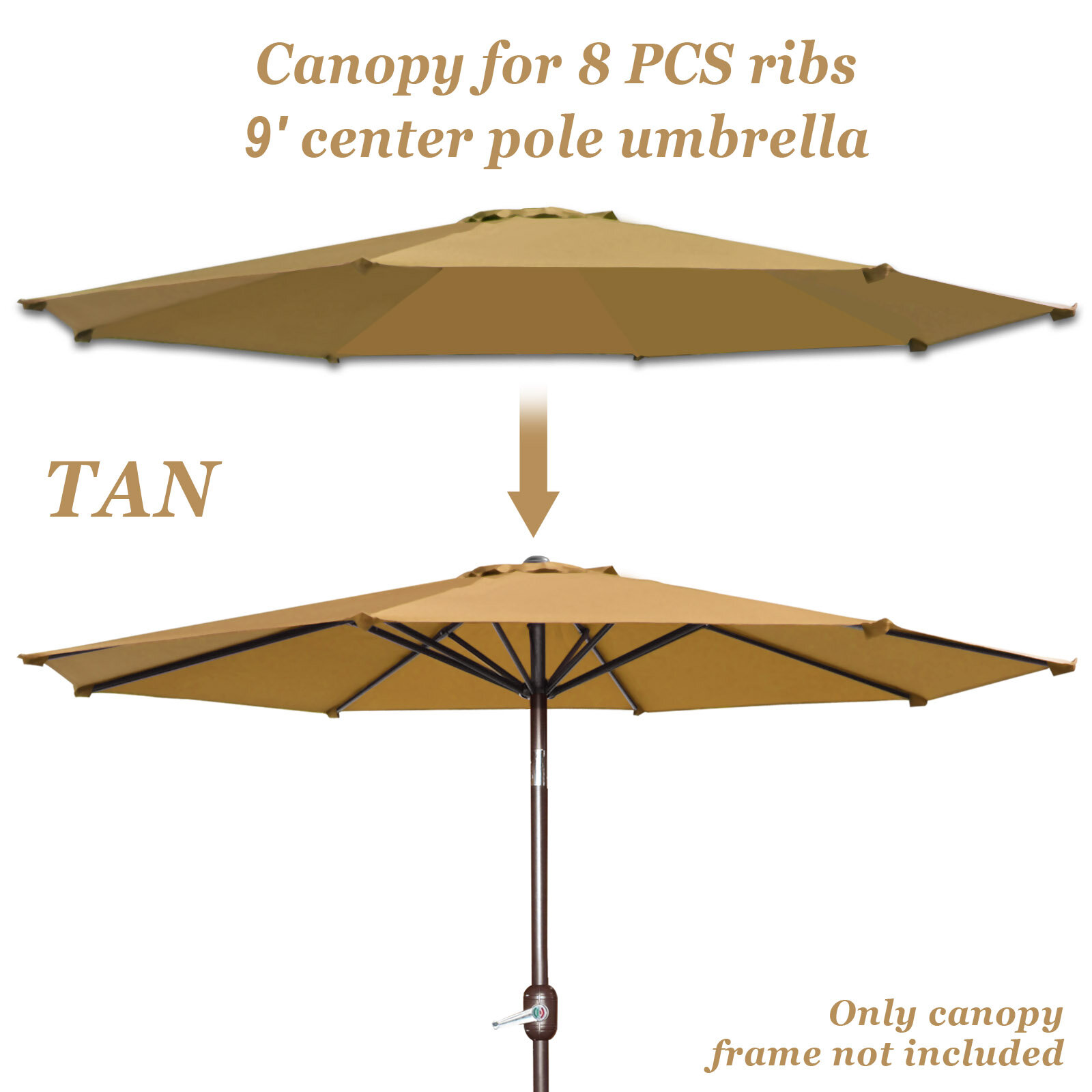 Winston Porter Rayners Patio Umbrella