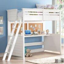 Desk White Loft Beds You Ll Love In 2021 Wayfair