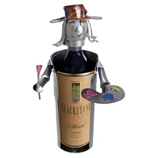 Artist Caddy 1 Bottle Tabletop Wine Rack by H & K SCULPTURES