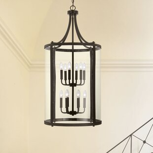 Compare prices Cowhill 12-Light Foyer Pendant By Darby Home Co
