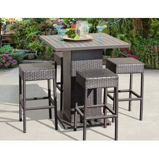 Amazing Napa 5 Piece Bar Height Dining Set