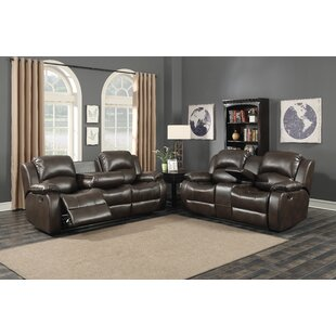 AC Pacific Samara Reclining 2 Piece Living Room Set