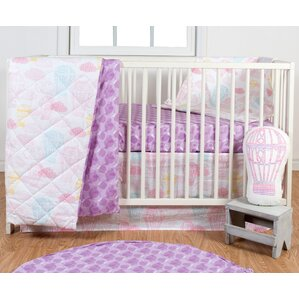 dreamscape 3 piece crib bedding set