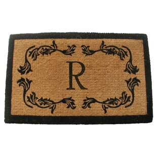 Personalized Leaf Doormat by Geo Crafts, Inc