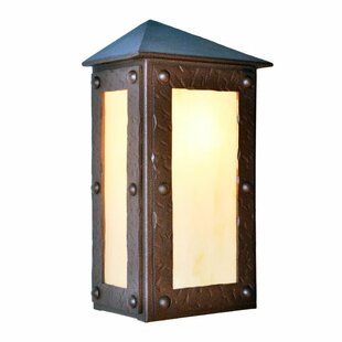 Compare Rogue River 1-Light Outdoor Flush Mount By Steel Partners
